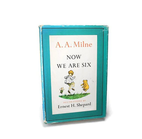 Vintage 1961 Now We Are Six by A.A.Milne Decorations by