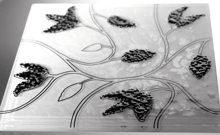 Andretto © Design - Tulipano Black - Murano glass