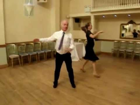 Sindy Swing Sequence Dance to music - YouTube