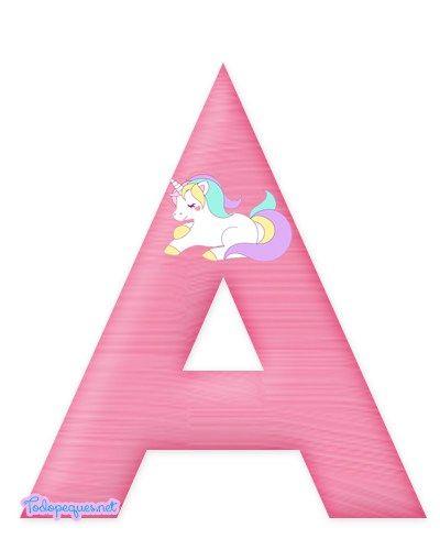 Continuamos ofreciéndote más imprimibles con la temática de Unicornios. En esta oportunidad podrás descargar un alfabeto espectacular y con excelente calidad de imagen, cada una de las letras del a…