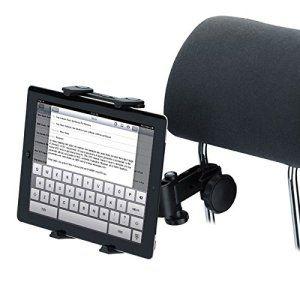Tomkit Support Tablette Voiture Auto appuie tete 7-10″ pouces pour Ipad Air Ipad Mini Samsung
