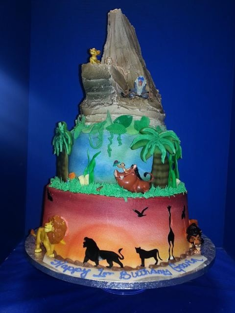 the lion king cake <3