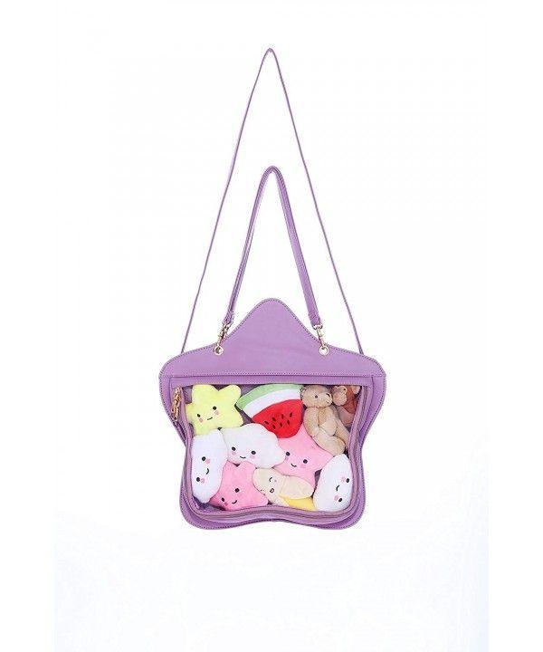 Lolita Sweet Rainbow Shoulder Bag Women Girls Purse Cross body Bag Messenger Bag