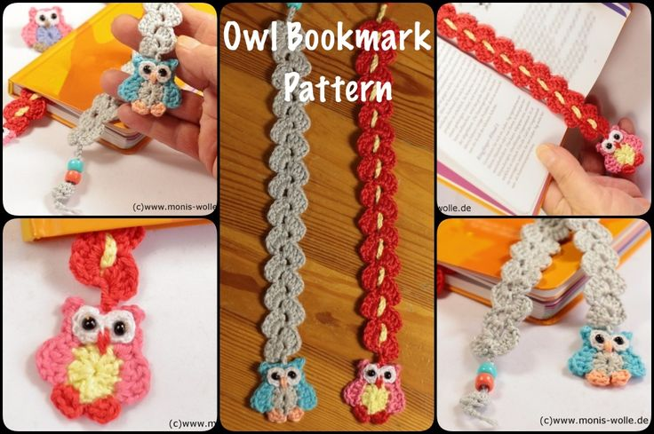 This Little Crochet Owl Bookmark puts a smile on your face. It's way too cute for any words to describe! It can be a great gift idea.