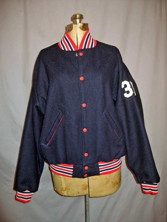 1000  images about Vintage Baseball Jacket on Pinterest | Wool