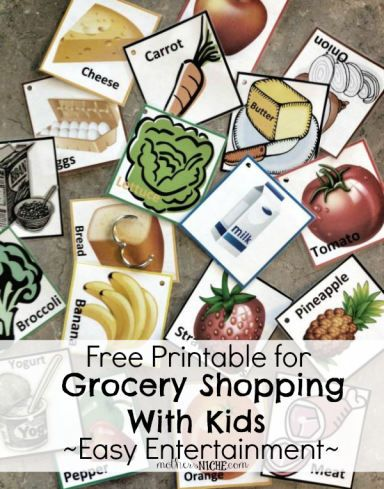 Hmm..I wonder if grocery shopping with my family could actually turn into a FUN activity? Making grocery shopping less of nightmare for parents! Use this fun printable to keep the kids entertained and distract them from the whining.