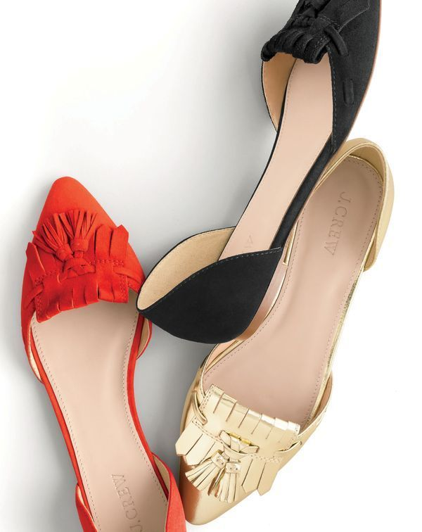 suede tassel flats. Fall Fashion Do's and Don'ts | Divine Style