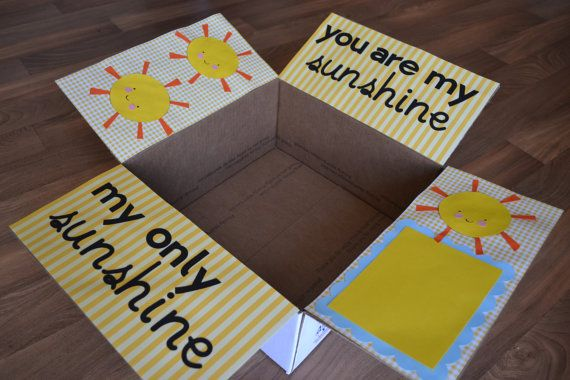 Sunshine Care Package by CarePackageCraft on Etsy, $7.00cody