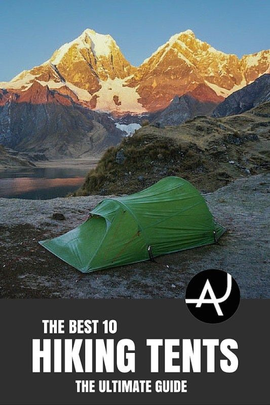 Check out the best 10 hiking tents.