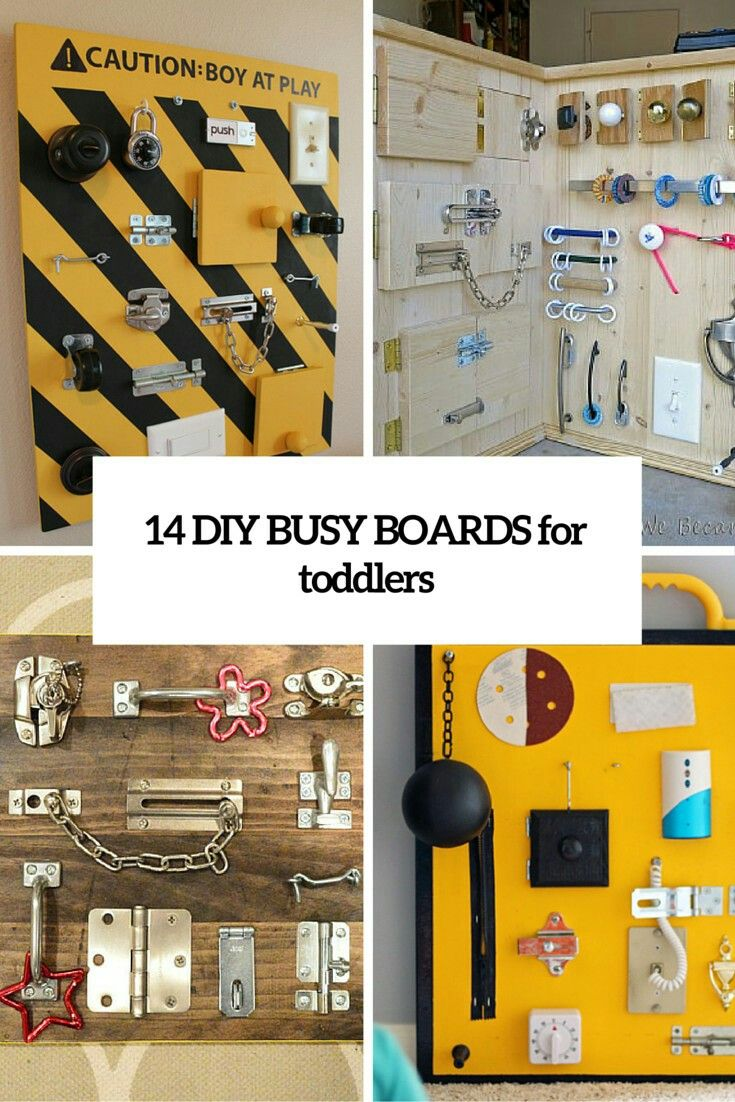 Play board...I like these ideas