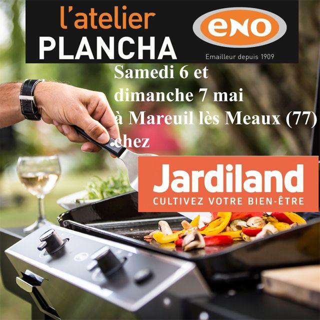 Atelier Plancha ENO Samedi Et Dimanche Mai Chez Jardiland à - Cours de cuisine meaux