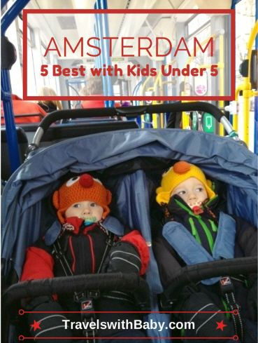 Netherlands with kids! My top 5 things to do in Amsterdam with kids under 5 on Travels With Baby.