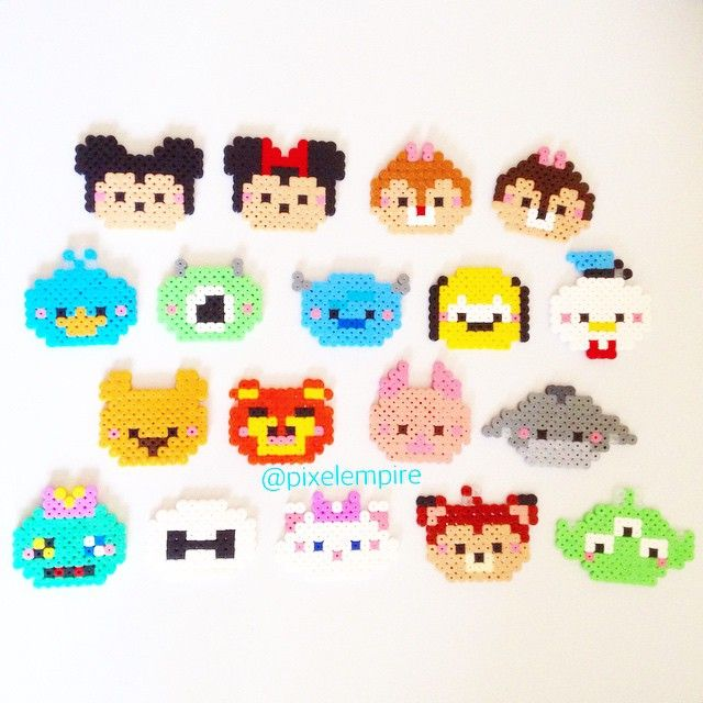 All the Tsum Tsum together. There is loads more I want to make, if you have any…