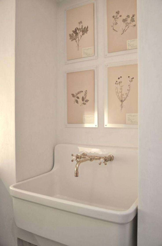 Kohler Gilford Sink in Laundry Room