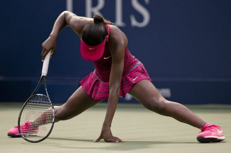 Françoise Abanda, combattive, s'incline au premier tour | Marc Delbès | Tennis
