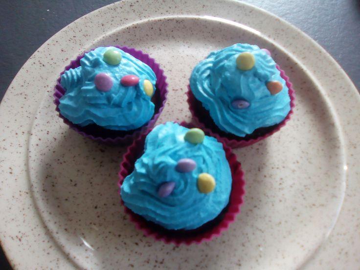 Cupcake Brownie au nutella