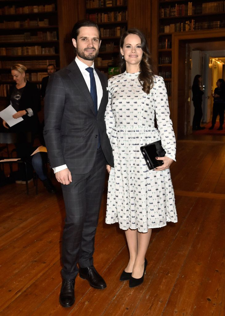 Prince Carl Philip and Princess Sofia attended a dyslexia symposium