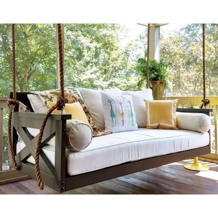 Lowcountry Swing Beds The Modified Cooper River Daybed Swing