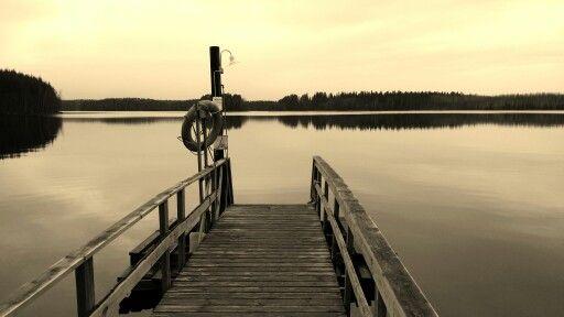 Lake  view in November