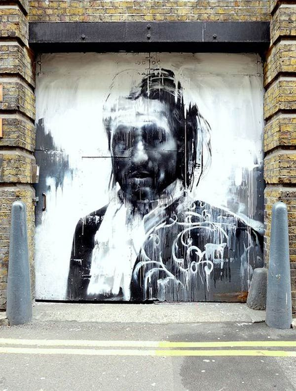 Street art by Conor Harrington