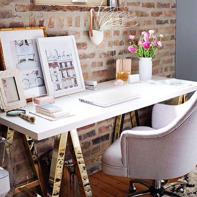 Love Alainakaz S Clean And Beautiful Desk Decor Featuring Art By Annawithlove In Our Mandalay