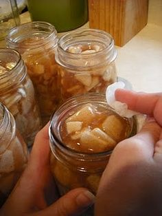 Canning Apple Pie Filling - How to make Homemade Apple Pie Filling