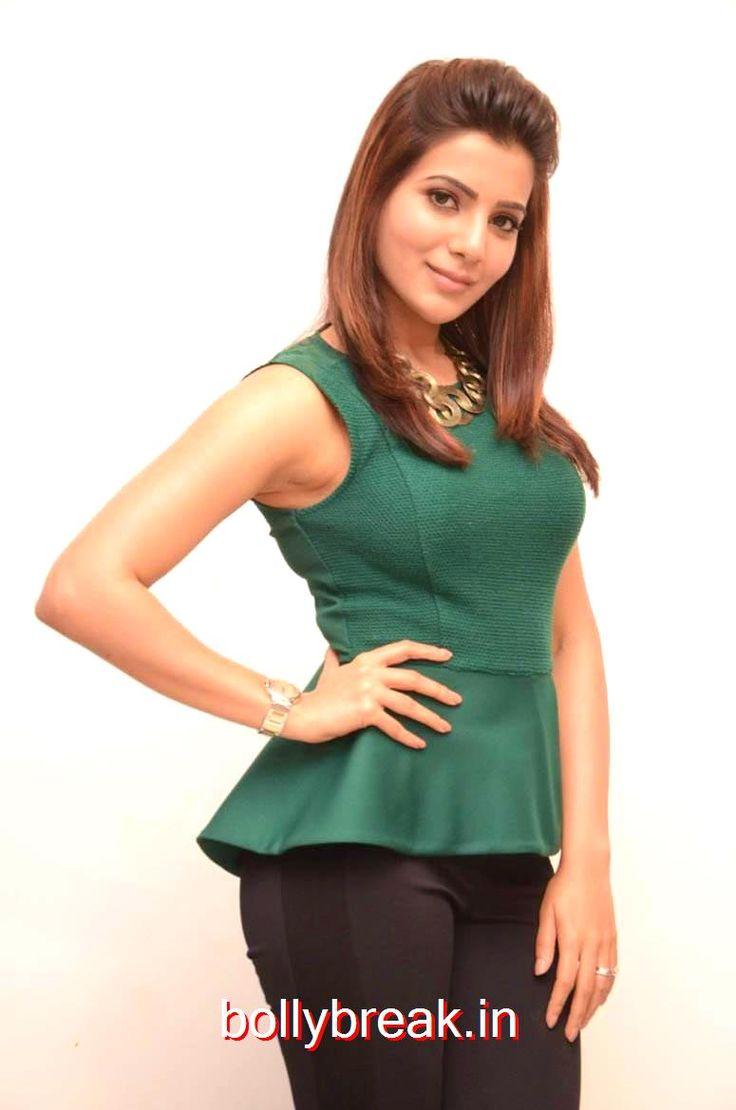 Samantha Latest Pics in Green Dress