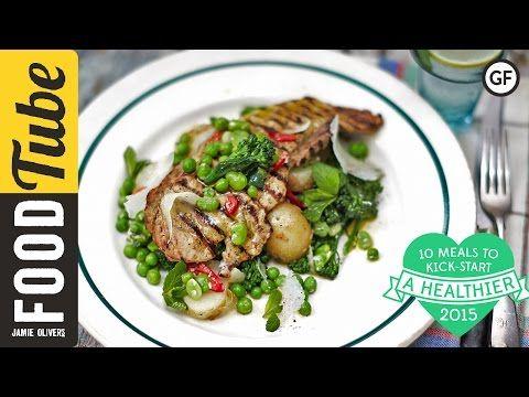 Chargrilled Pork Escalopes | Pork Recipes | Jamie Oliver