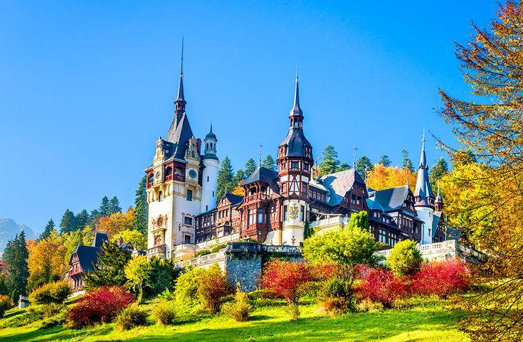 Slottet Peles i Rumänien #peles #slott #castle #rumänien #romania