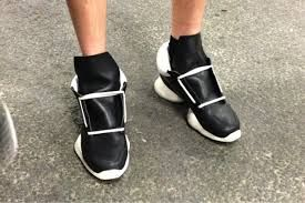 Hervia loves the Rick Owens SS13 collection #RickOwens #Leather #Footwear #Black #Monochrome