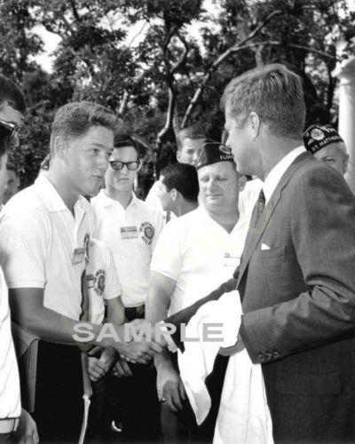 Bill Clinton: President Kennedy With Young Bill Clinton, Photo -> BUY IT NOW ONLY: $4.96 on eBay!
