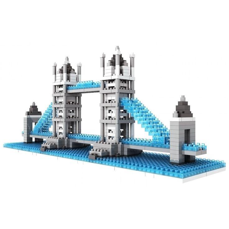 Wange Tower Bridge Brick Model