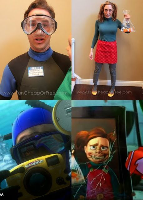 Finding Nemo Halloween Costumes Adults