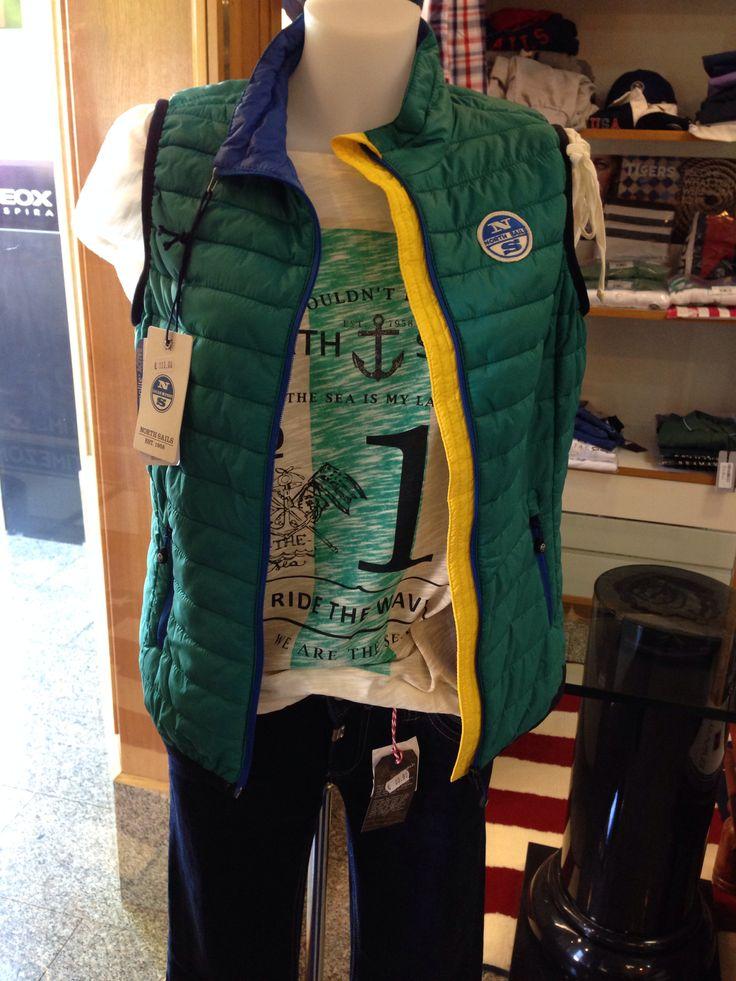North SAILS gilet e t-shirt   TIMEZONE. jeans