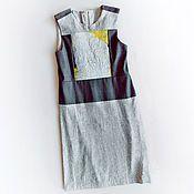 Купить или заказать Джемпер микс трикотаж, деним, кожа, нуновойлок в интернет-магазине на Ярмарке Мастеров. Джемпер комбинированный из трикотажа, плотного денима, нуновойлока (валяной вручную шерсти мериноса с шёлком) и кожи. На спине скрытая молния, что позволяет с комфортом одевать и снимать эту модель.