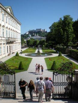 Mirabell Garden - Salzburg, Sound of Music tour