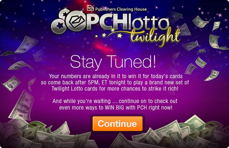 Free Lotto Online - Instant Winners Every Day   PCHLotto how could you pass it up