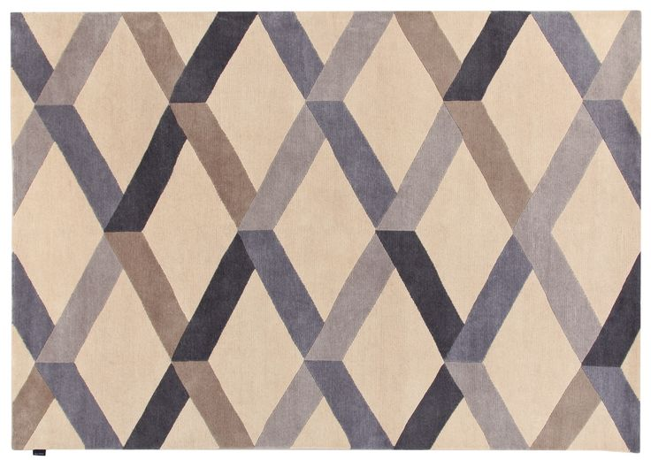 Incroci Rug Gio Ponti Carpet Collection Handknotted in Nepal by AMINI Tibetan Wool  250x300cm