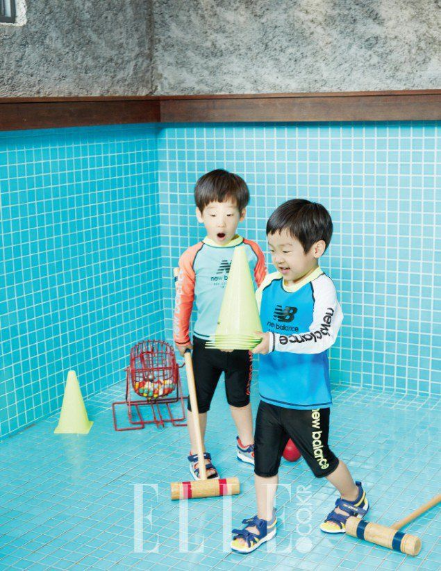 Seo Un and Seo Jun - Elle Magazine May Issue '16