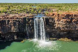 SLA-1400831 © WestPix Waterfall at King George River, the Kimberley. Picture: Scott Slawinski
