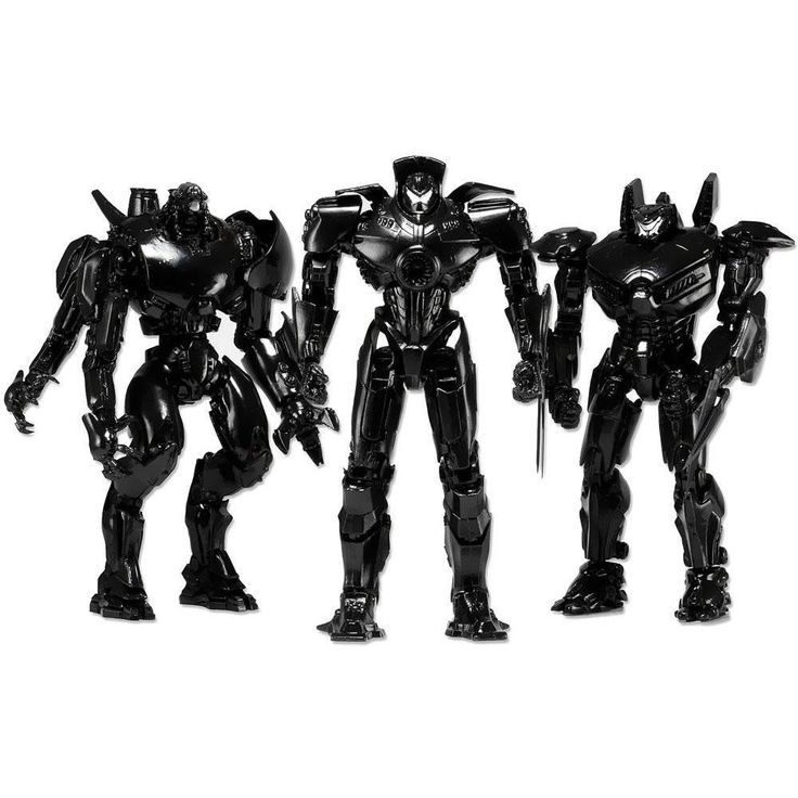 NECA Pacific Rim End Credits Action Figure 3Pack Set