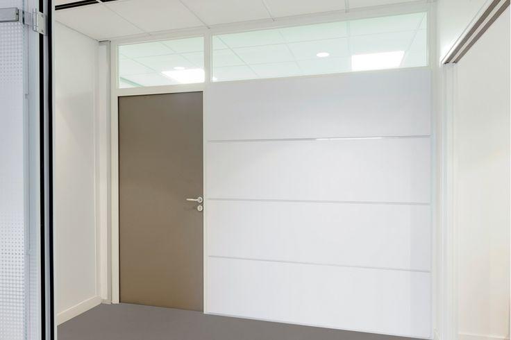 cloison amovible hoyez h5jc blanche joints creux. Black Bedroom Furniture Sets. Home Design Ideas