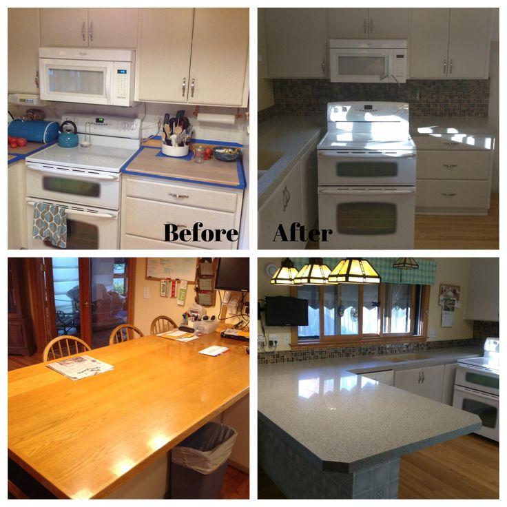 Take An Older Home, Add An Undermount Blanco Silgranite Sink, Maintenance  Free Quartz