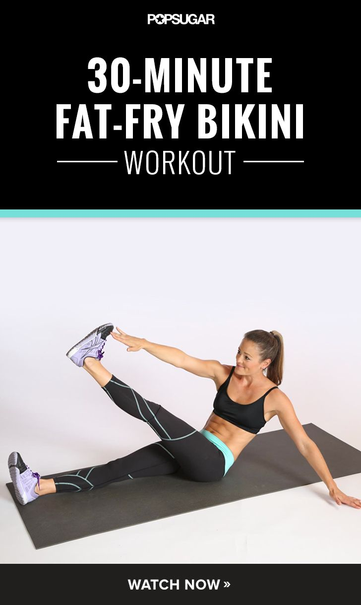 This workout is so fun! It is 30-minute then done — quick and effective.