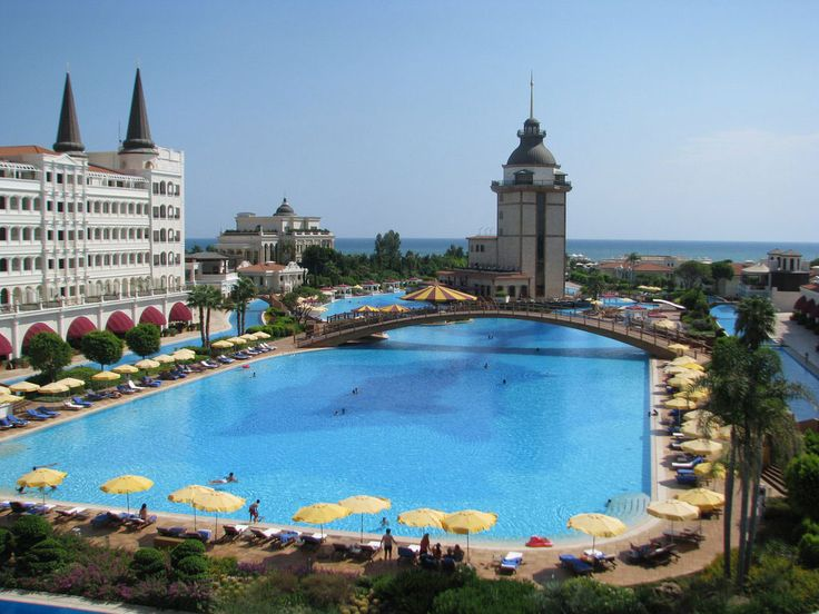 La piscine du Mardan Palace Antalya Hotel, Turquie
