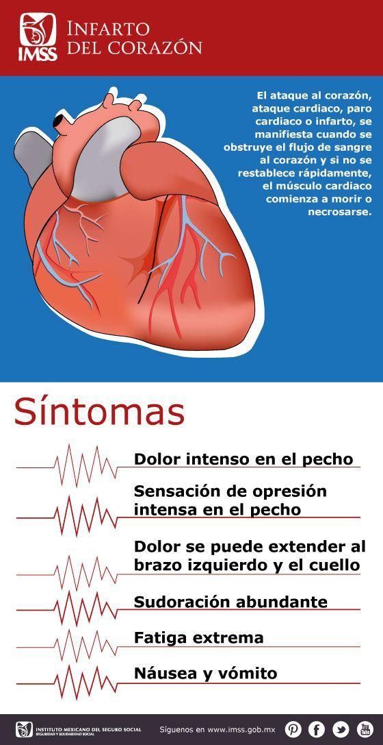 7 factores más frecuentes que detonan un infarto