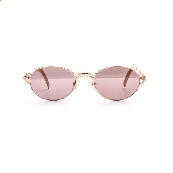 fbef79fcca Vintage Sunglasses Trends - Jean Paul Gaultier 56 6101 1 (€1.130) ❤ liked  on Polyvore featuring accessories
