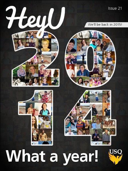 Issue 21 is the final issue of HeyU for 2014. We're celebrating with all your favourites: recipes, music reviews, Spotted on Social, #usqunistyle and an epic feature article about Taylah! But don't worry, we'll be back in 2015.