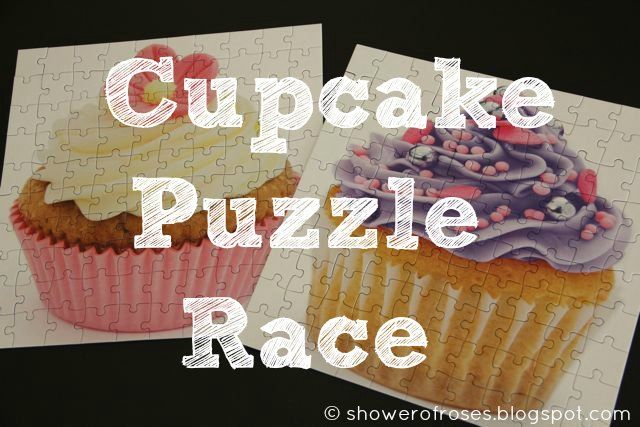 of Roses: Tea Party Games :: A Cupcake Jigsaw Puzzle Race! | Tea