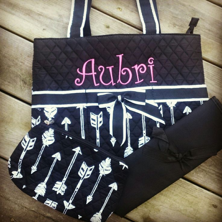 One of my favorite new diaper bags! For boy or girl!